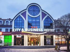 Сити и Бизнес Отель, отель в Минеральных Водах