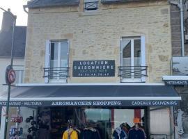 Appartement 3 Pièces Bord de mer Place du 6 Juin, apartment in Arromanches-les-Bains