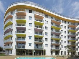 IG City Apartments Campus Lodge, отель в Вене, рядом находится Стадион «Эрнст Хаппель»