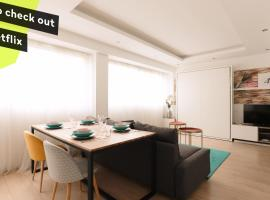 ☆Loft 35m2 Lyon 6 Ménage inclus/pas de check out☆, hotel near Masséna Metro Station, Lyon