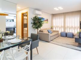 Lindo Apto De 2 Quartos Em Gramado - Ed Paradiso, apartment in Gramado