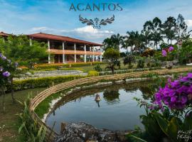 Acantos Hotel Campestre, hotel in Támesis
