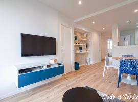 Beautiful 2 bedroom with balcony - Dodo et Tartine, hotel in Toulon