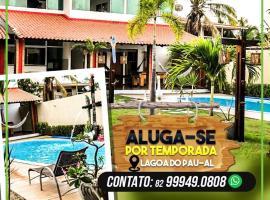 Casa de temporada, Lagoa do Pau Coruripe-AL, hotel with pools in Coruripe