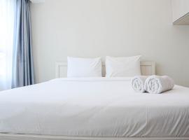 Homey and Minimalist Studio at Springlake Summarecon Bekasi Apartment By Travelio