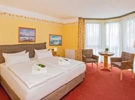 Hotel Garni Nussbaumhof, hotell i Ueckeritz