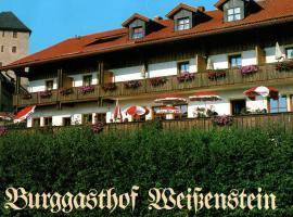 Burggasthof Weißenstein, Hotel in Regen