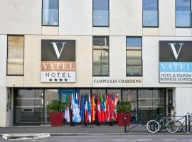 Hotel Vatel Bordeaux, hotel near Chaban Delmas Bridge, Bordeaux