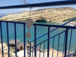 Matala Blue, pet-friendly hotel in Matala