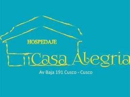 Hospedaje Casa Alegria, hotel in Cusco