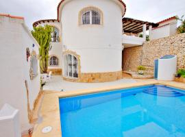 Cuenca - charming villa with private pool in Benissa, hotel en Benissa