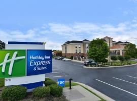 Holiday Inn Express Hotel & Suites Petersburg/Dinwiddie, hotel in Petersburg