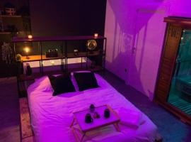 Appartement Spa - NAHLEO Industriel, hotel near The museum of fine arts of Dole, Dole