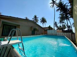 EKO STAY- OCEAN CREST VILLA, hotel with pools in Vagator
