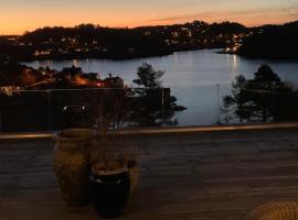 Utsikten, Ferienwohnung in Arendal