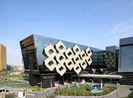 Crowne Plaza Riyadh - RDC Hotel & Convention, an IHG hotel, отель в Эр-Рияде