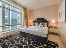BellaVista Apartments - Burj Views Tower Opposite Dubai Mall, accessible hotel in Dubai