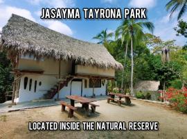 Hotel Jasayma Parque Tayrona, hotel in El Zaino