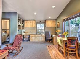 Charming Studio with Patio, 2 Mi to Dwtn Boise!, apartment in Boise