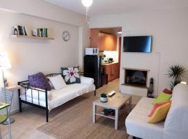 Aloe apartment in Askeli, pet-friendly hotel in Poros