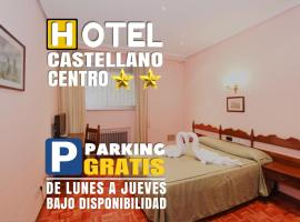 Hotel Castellano Centro, hotel near Spanish Red Cross, Salamanca