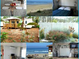mobilhome camping les dunes de contis, campground in Saint-Julien-en-Born