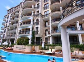 Menada Harmony Suites X, отель в Бургасе