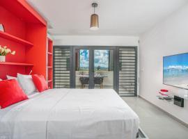 STUDIO EQUIPE A L ETANG Z ABRICOTS, hotel in Fort-de-France