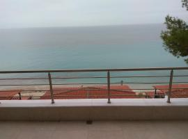 By the sea with great view luxury, villa in Siviri