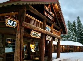 Historic Tamarack Lodge and Cabins, hotel v destinaci Hungry Horse