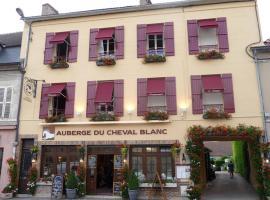 Auberge du Cheval Blanc、アヴァロンのホテル