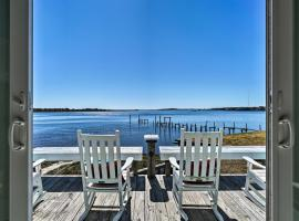 Atlantic Coast Dome Home Across from Sound with View, vacation rental in Wilmington