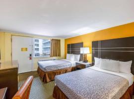 Econo Lodge Beach And Boardwalk, hotel in Atlantic City