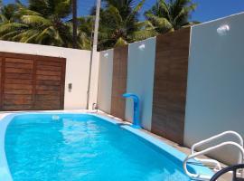 CASA DE PRAIA NO MIAI DE CIMA, CORURIPE 90 metros da praia, hotel with pools in Coruripe