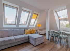 Słoneczne Poddasze, accessible hotel in Sopot