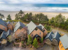 Oceanview Chalet at Agate Beach ~ Hot Tub, hotel in Newport