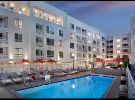 L.A. Lux China Town 30 Day Stays, hotel in Los Angeles