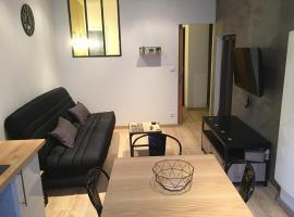 sublime T2 tout confort a sete, apartment in Sète