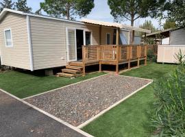 La Carabasse Mobil-Home neuf Siblu Vias, campground in Vias