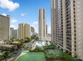 Waikiki Banyan by Darmic, holiday home in Honolulu