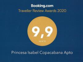 Princesa Isabel Copacabana Apto, hotel near Post 2 - Copacabana, Rio de Janeiro