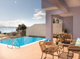 Corfu Ocean View Villa - Damian, hotel in Barbati