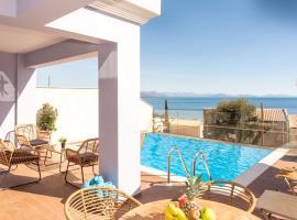 Corfu Sea View Villa - Leo, hotel in Barbati