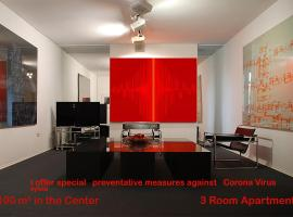 Artist Residence Schwabing, apartment in Munich