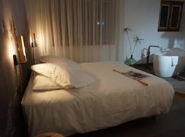 Les Glycines、Vieille-Brioudeのホテル