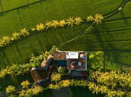 Green&Gorgeous! Ocean View Paradise Villa, отель в городе Танах-Лот