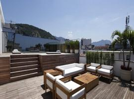 Penthouse grande com terraço e jacuzzi, hostel in Rio de Janeiro