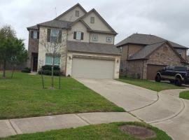 Large, Sanitary 5 Bedroom House With A View In West Houston, Free WiFi, villa in Houston