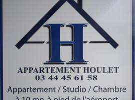Appartement Houlet, hotel dicht bij: Luchthaven Beauvais-Tille - BVA,