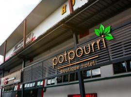 Potpourri Boutique Hotel, hotel in Johor Bahru